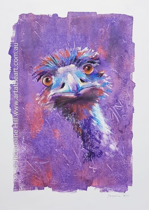 Wotchoolookingat IV (Emu)