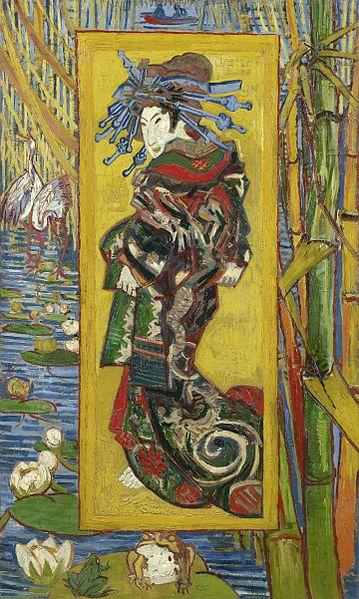 """""""Courtesan"""" by Vincent van Gogh"""