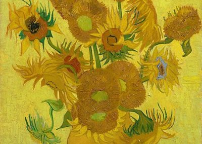 """Sunflowers"" by Vincent van Gogh"