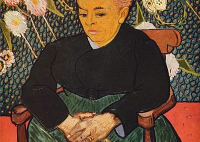 """La Berceuse (Augustine Roulin)"" by Vincent van Gogh"