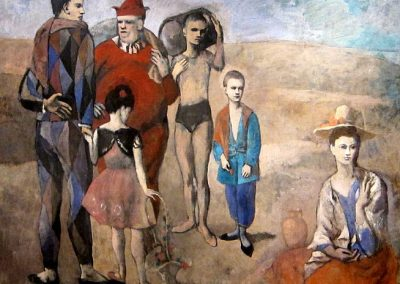 """ Family of Saltimbanques"" by Pablo Picasso"