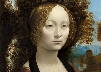 """Ginevra de' Benci"" by Leonardo da Vinci"