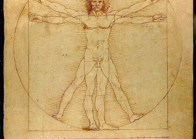"""Vitruvian Man"" by Leonardo da Vinci"