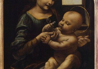 """Benois Madonna"" by Leonardo da Vinci"