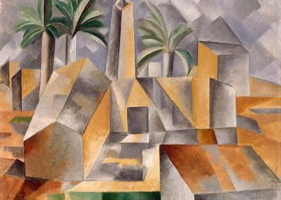 """Brick Factory at Tortosa"" by Pablo Picasso"