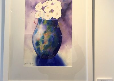 Blue Mood-Vase by Meredith Baxter