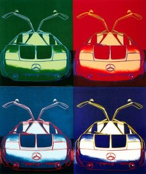 """""""Cars"""" by Andy Warhol"""