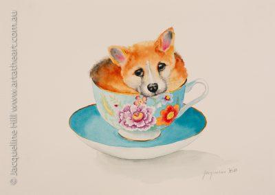 DA180 Tea With Friends XIX Logan the Dingo Puppy
