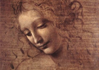 """""""La Scapigliata"""" by Leonardo da Vinci"""