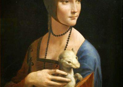 """Lady with an Ermine"" by Leonardo da Vinci"
