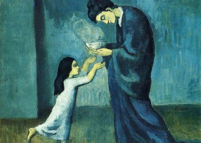 """The Soup"" by Pablo Picasso"