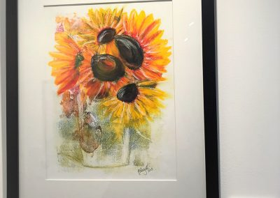 Sunflowers by Lisa Bagnall