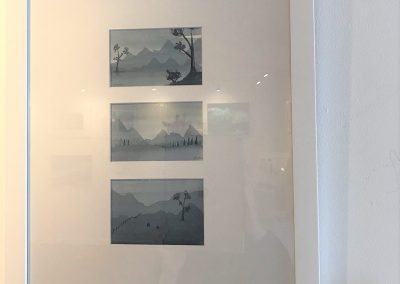 Tonal Landscape Trio by Rachael Lewis