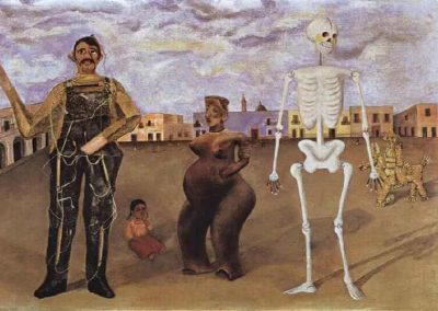"""Four Inhabitants of Mexico"" by Frida Kahlo"
