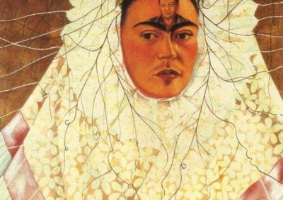 """Self Portrait as a Tehuana"" by Frida Kahlo"