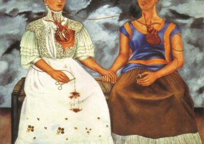 """The Two Fridas"" by Frida Kahlo"