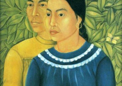 """Two Women"" by Frida Kahlo"