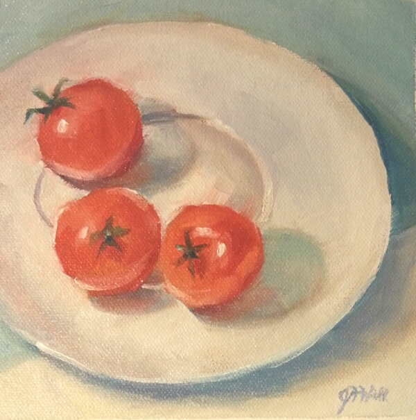 Tomato Painting - Art At Heart